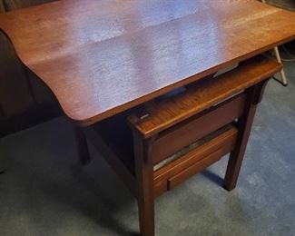 Rare,  1900s oak table chair . Unusual item , great condition . Flip top chair/table unit.
