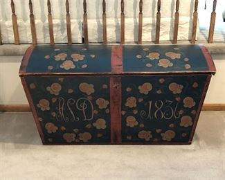 Beautiful Antique Trunk - Family Heirloom