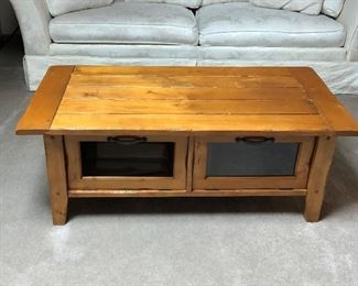 Sofa Table w Storage Base