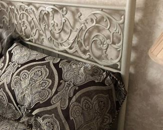 Scrolled Iron Headboard