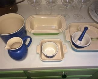 and more Le Creuset