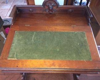Antique ship captain's desk
