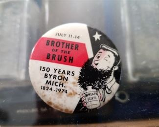 Byron memorial pin