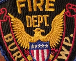 Burns Twp. fire department patch