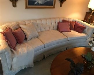 Beautiful rounded couch