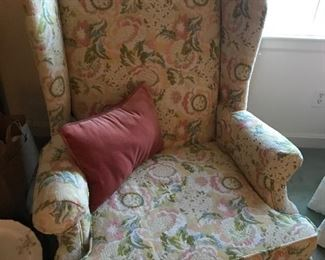 Wing back chair (#1)