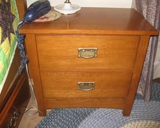 Bassett nightstand