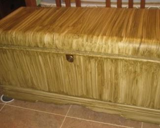 """Waterfall trunk """"antiqued"""""""