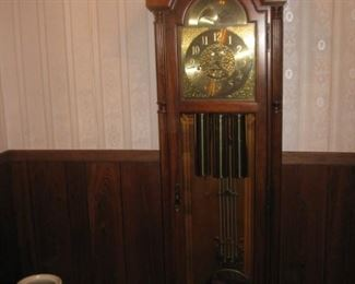 Howard Miller 60th Anniversary Grandfather clock