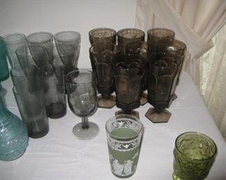 """Fostoria """"Virginia"""" glassware"""