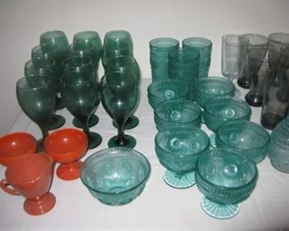 Pioneer woman glassware and others