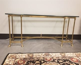 Labarge sofa table.  Matching coffee table also available