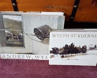Many Andrew Wyeth's books