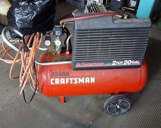 Craftsman  2HP 20Gal Air Compressor