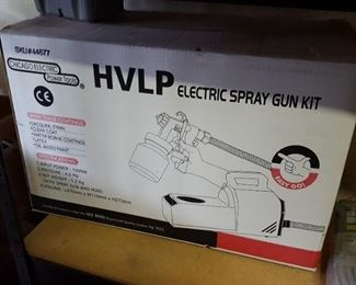 electric paint spray gun kit