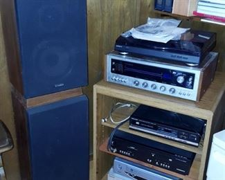 pr Fisher DS-810 speakers
