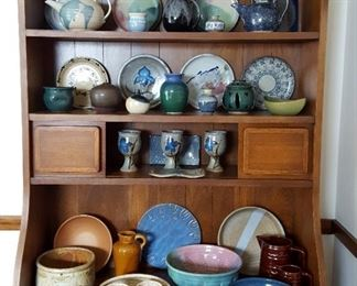 Lots of pottery - many signed