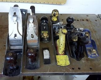 Stanley and other wood planes