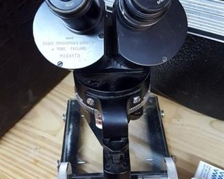 Vintage Microscope Cooke Troughton & Simms York England