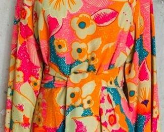 1970s Lounge-dress