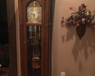 Seth Thomas Grandfather Clock w/several chime options