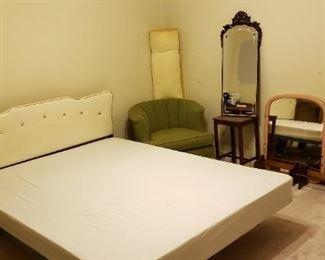 Mid Century Bed