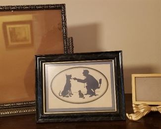 antique and vintage pictures, picture frames