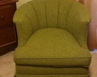 Mid Century Green Chair