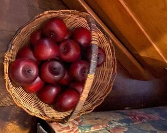 Antique Wooden Apples