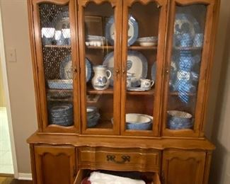 Antique China cabinet from the 1940s