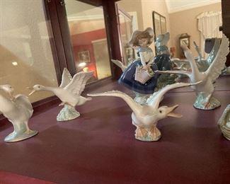 Lladro statues