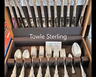 "Towle sterling ""Old Master"""