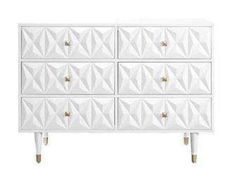 Everly Quinn Morley 6 Drawer Double Dresser