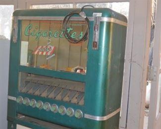 Antique Cigarette vending machine