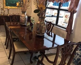 Cherry Table with Chairs