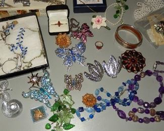 A sample of the jewelry