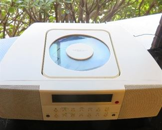 Copenhagen Design radio CD player