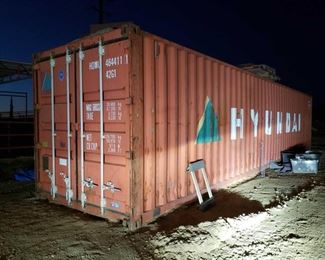30: 40' Container Contents NOT included