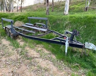 68: Boat Trailer Approximately 21'