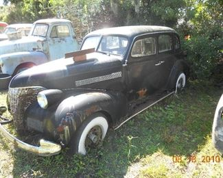 1939 Chevy 4 door sedan