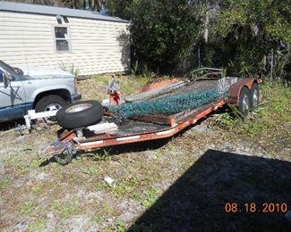 Flat Bed car/equipment trailer