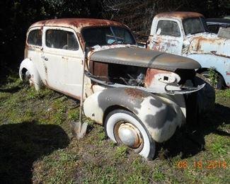 1937 Chevy 2 door sedan