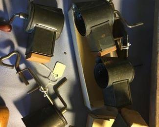 Selection of nutmeg grinders