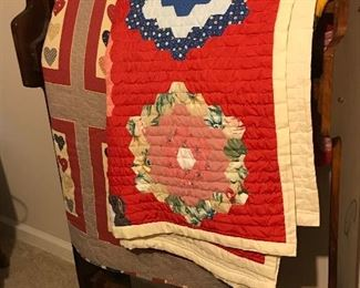 more quilts and quilt rack display
