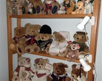 Steiff bears and others