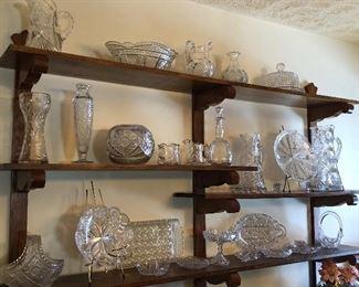 Very nice antique cut glass