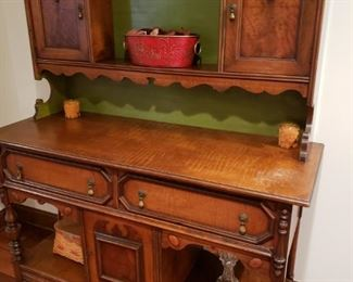Vintage Pie shelf  52 inches wide and 64 inches tall