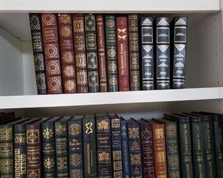Easton Press Leather Bound Books