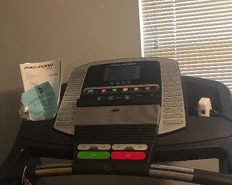 Pro-form 705 cst treadmill proshox elite 2