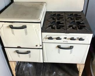 Antique Holly Stove